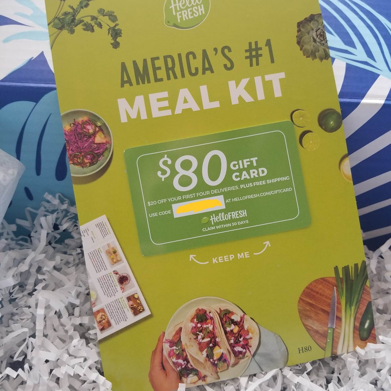 Some Known Questions About Hello Fresh Gift Card.