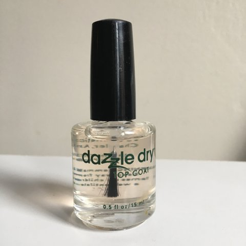 Brand new Dazzle Dry clear top coat nail polish. Literally - Depop