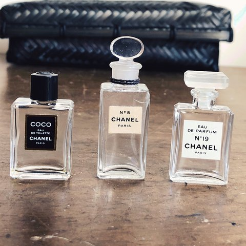 7fa9253cd09c @13recollets. 10 months ago. New York, United States. One antique Chanel  perfume bottle