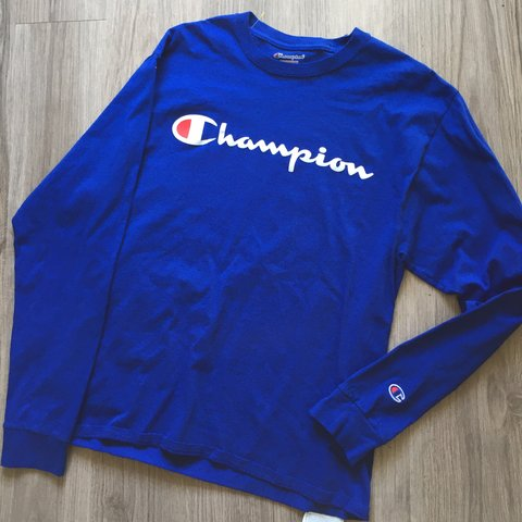 47918cf9 @jrdccv. 9 months ago. Lompoc, United States. Champion Long Sleeve shirt. Royal  blue