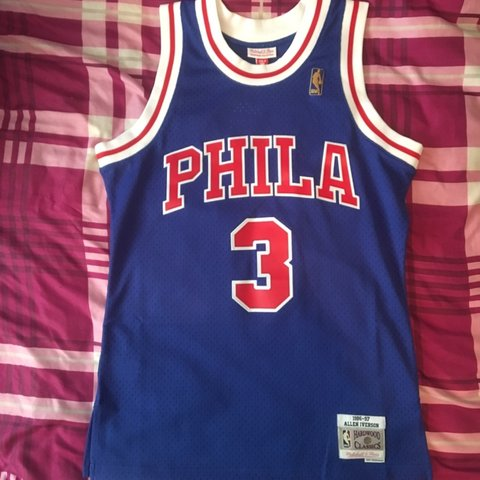 b7599ae23b4a Brand New with tags on. Mitchell and Ness Philadelphia NBA - Depop