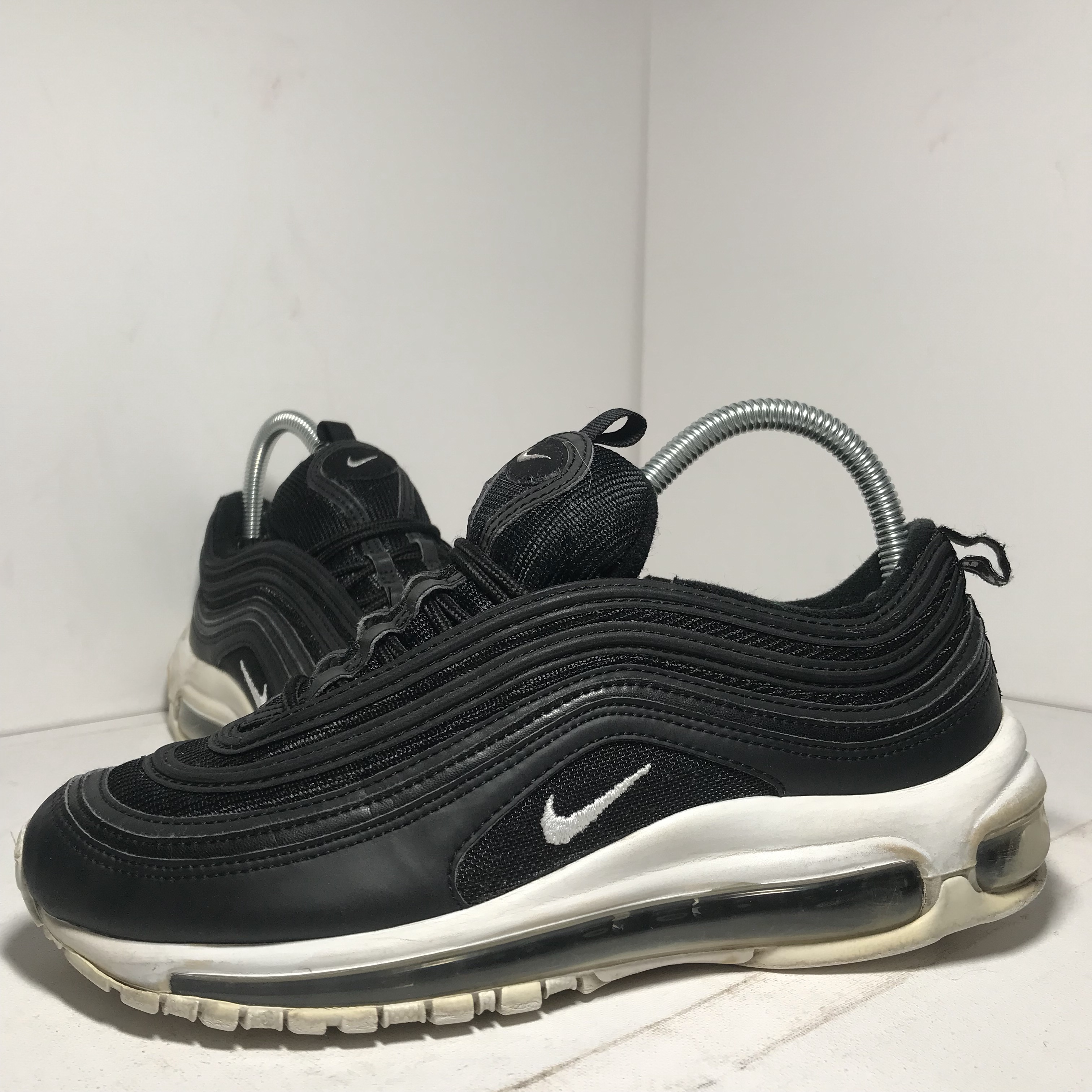 detailed look 3e24b 4763f Nike Air Max 97s Black and white Size UK5.5... - Depop