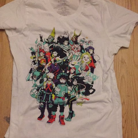 5a8c18f1 Bnha shirt time, i got this shirt at Hot topic and its a It - Depop