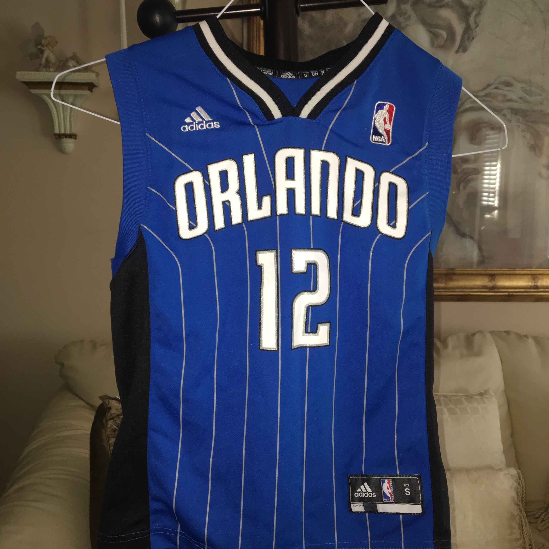 newest e328d d17e6 Dwight Howard Orlando Magic Jersey Size small in YL... - Depop