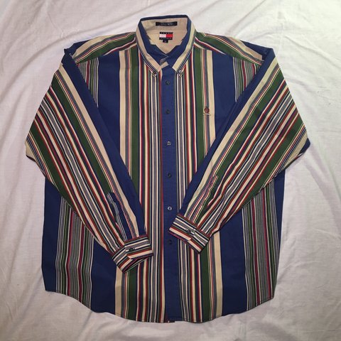 42e3603f3 @jaccoozi. 5 months ago. Culpeper, United States. Vintage Tommy Hilfiger  striped button down!