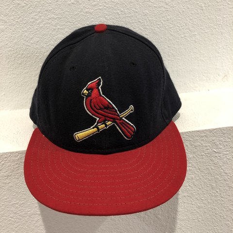 b6def508547c8 Vintage Cardinals baseball hat. Authentic 59FIFTY This is a - Depop