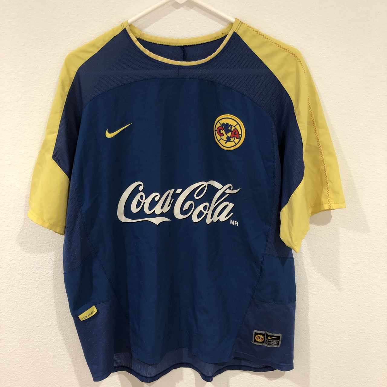 best loved 22a62 0bea0 Vintage 90s Club America Jersey. This is an... - Depop