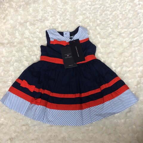 76e6ef85 BRAND NEW WITH TAGS Tommy Hilfiger baby girls nautical style - Depop