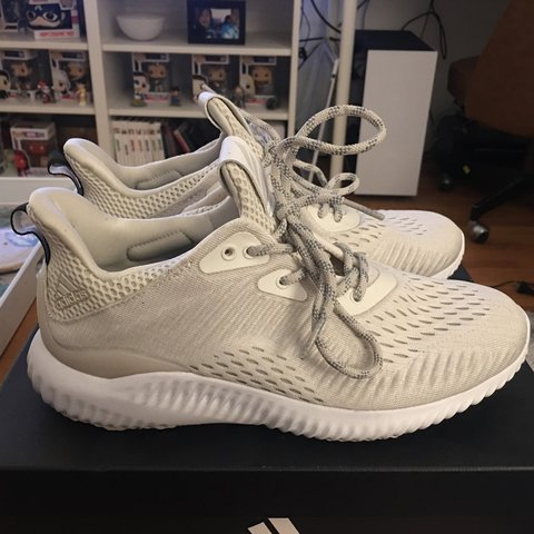 509d2bbea71 Barely Used Adidas Women s Alphabounce EM . Product color    - Depop