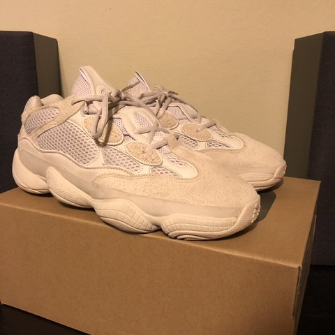 """08cfb91d4ae99 Yeezy 500 """"Blush"""" + 8.5 10 Condition"""