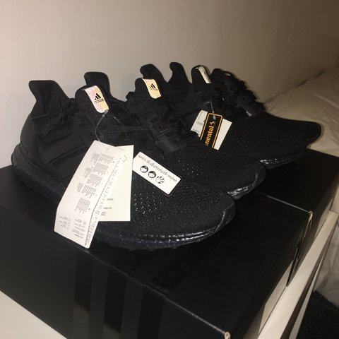 7374ff5cc8b57 Adidas Ultra Boost  Triple Black . Completely Dead Stock