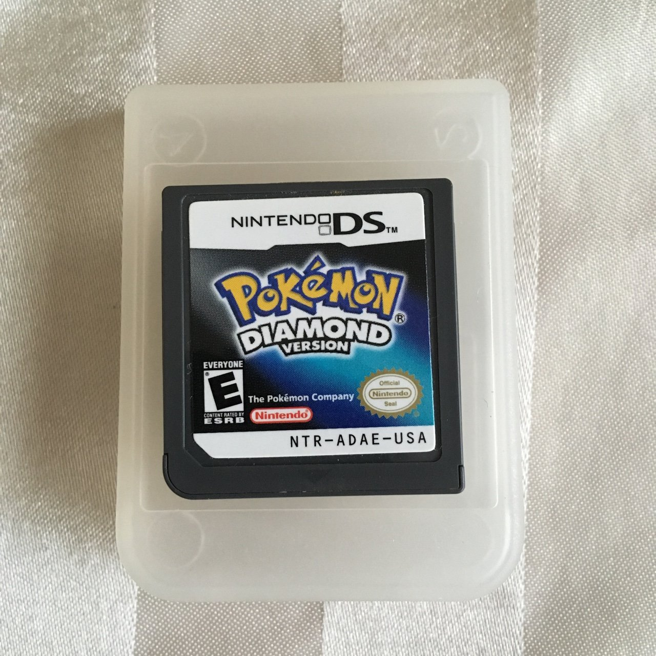 Pokemon Platinum Version Ds Case And Manual Only *no Game* Nintendo Video Games & Consoles