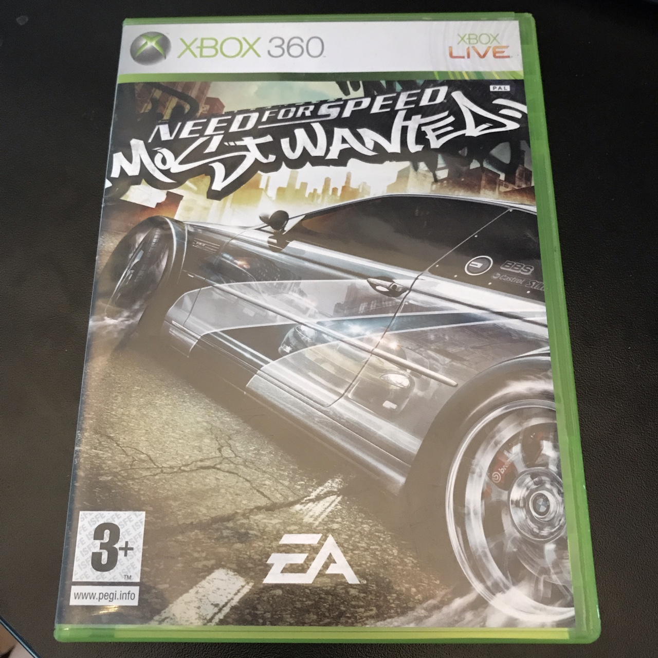 Need for speed most wanted 2005 Xbox 360- rare    - Depop