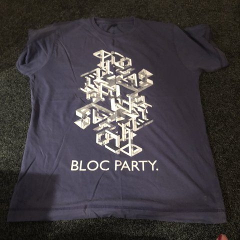 7df0d51ba9b7 Bloc Party vintage(ish) band t-shirt /tee from their 2009 M. - Depop