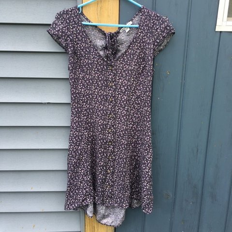91ea0b77ff8 Cute lace-up American Eagle summer dress! Hits right above - Depop