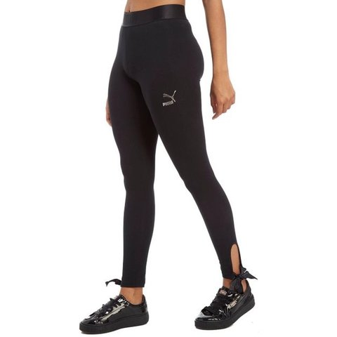 902125cd9f440 @linzi_89. 5 months ago. Renfrew, United Kingdom. Black puma leggings with bow  size 12. New without tags RRP ...