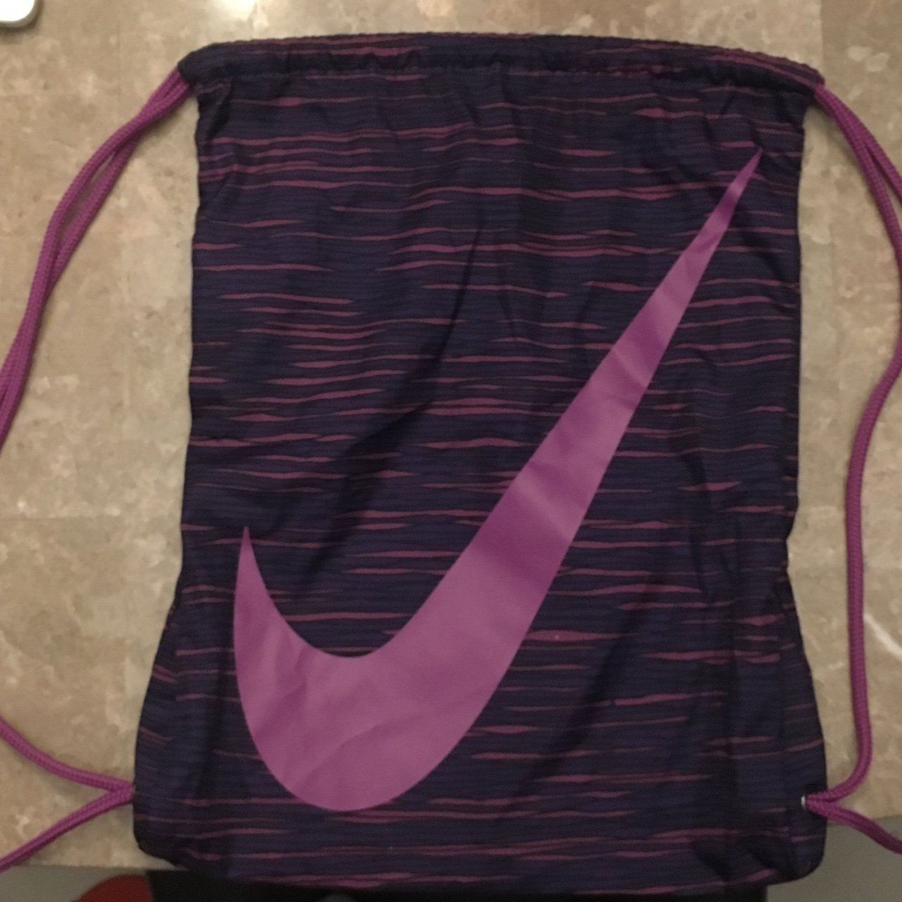 s lilia. 19 days ago. United States. purple nike string bag faf221c94946