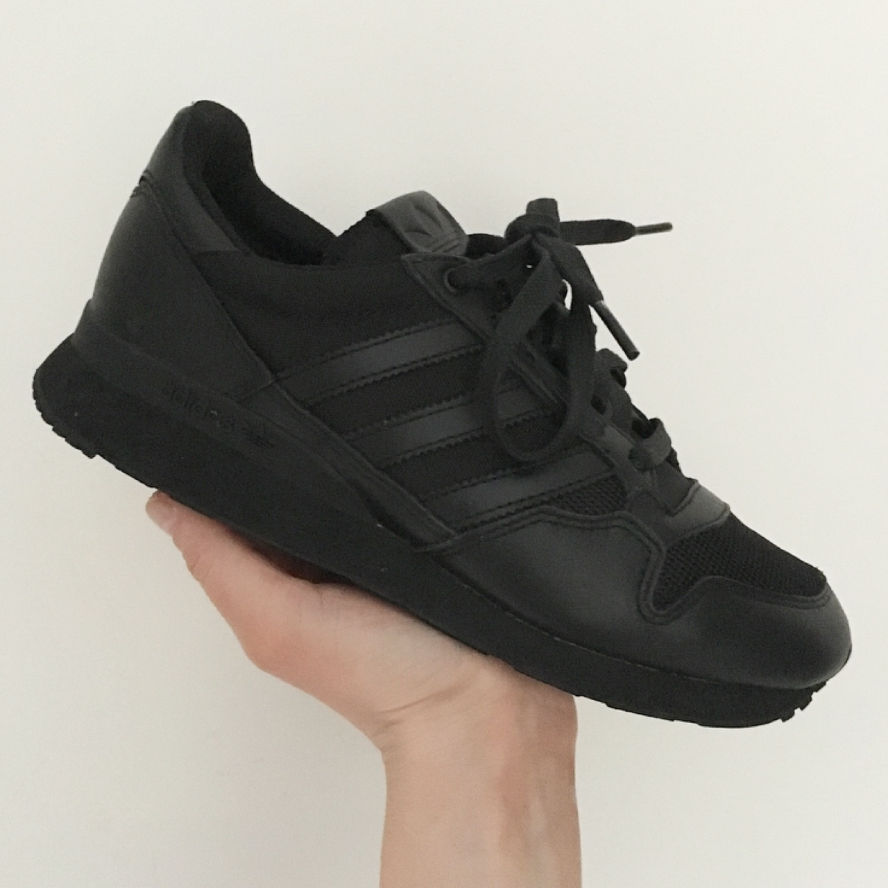All Black Adidas Originals ZX 750 Cool Trainers Men's Running Shoes AQ5812 SIZE 40 44