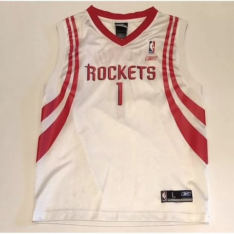 06bd5db8953 Tracy McGrady Houston Rockets NBA Adidas Kids Jersey Size of - Depop