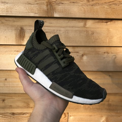 41d7bb93ad590 Adidas NMD R1 PK camo 🌿🌿 - super dope and light pair of 5 - Depop