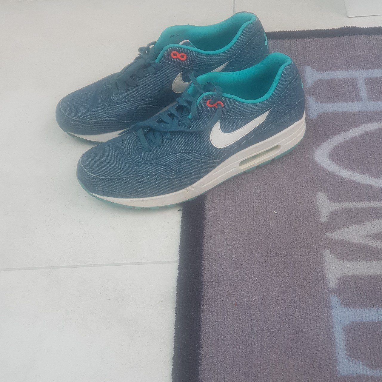 competitive price 604c6 96d61  bigspadge. 2 days ago. Doncaster, GB. Nike Air Max 1 Denim Midnight  Turquoise