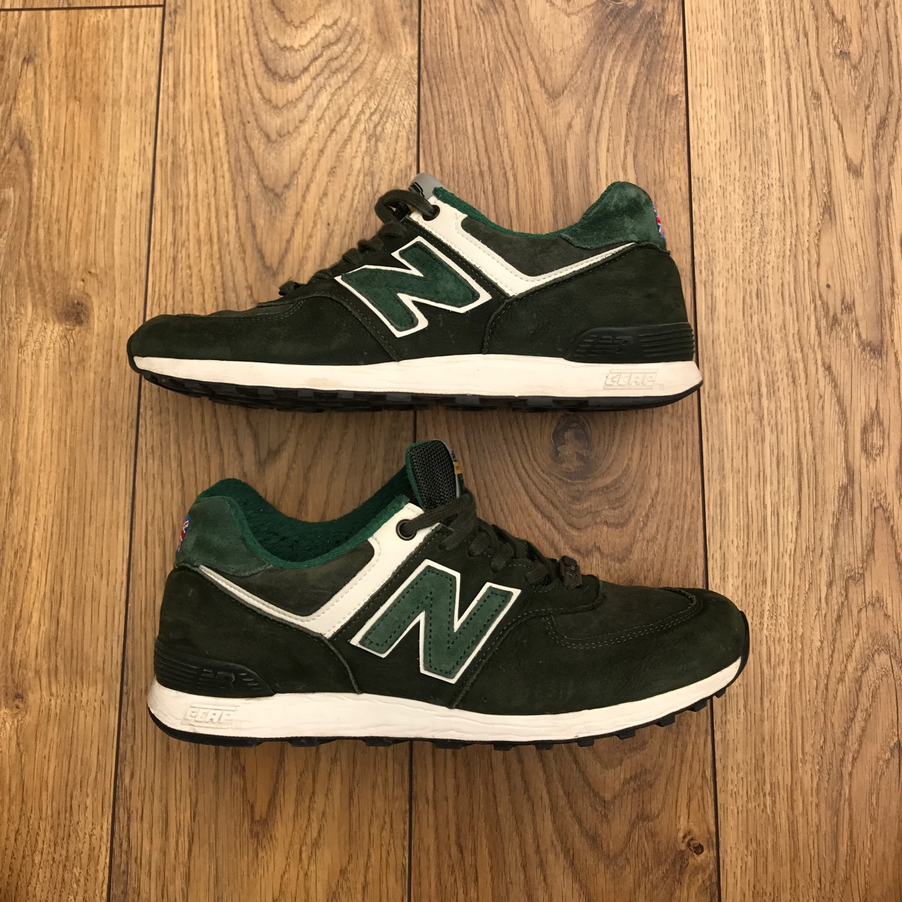 new products 1f211 91701 New balance 576 made in England 'tea pack' UK... - Depop