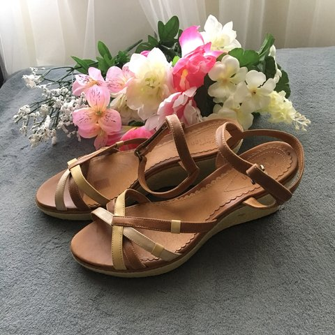 3a58d8d9973 Clarks Artisan wedges sandals. Size 8 1 2. New without tag