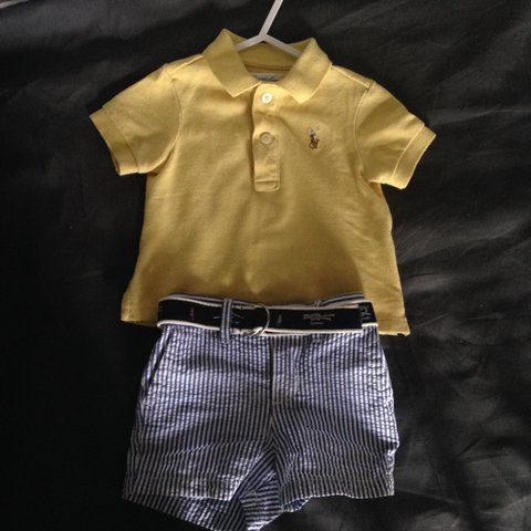 119234e66 @lauvene. 3 years ago. Spalding, UK. Ralph Lauren baby boys polo ...