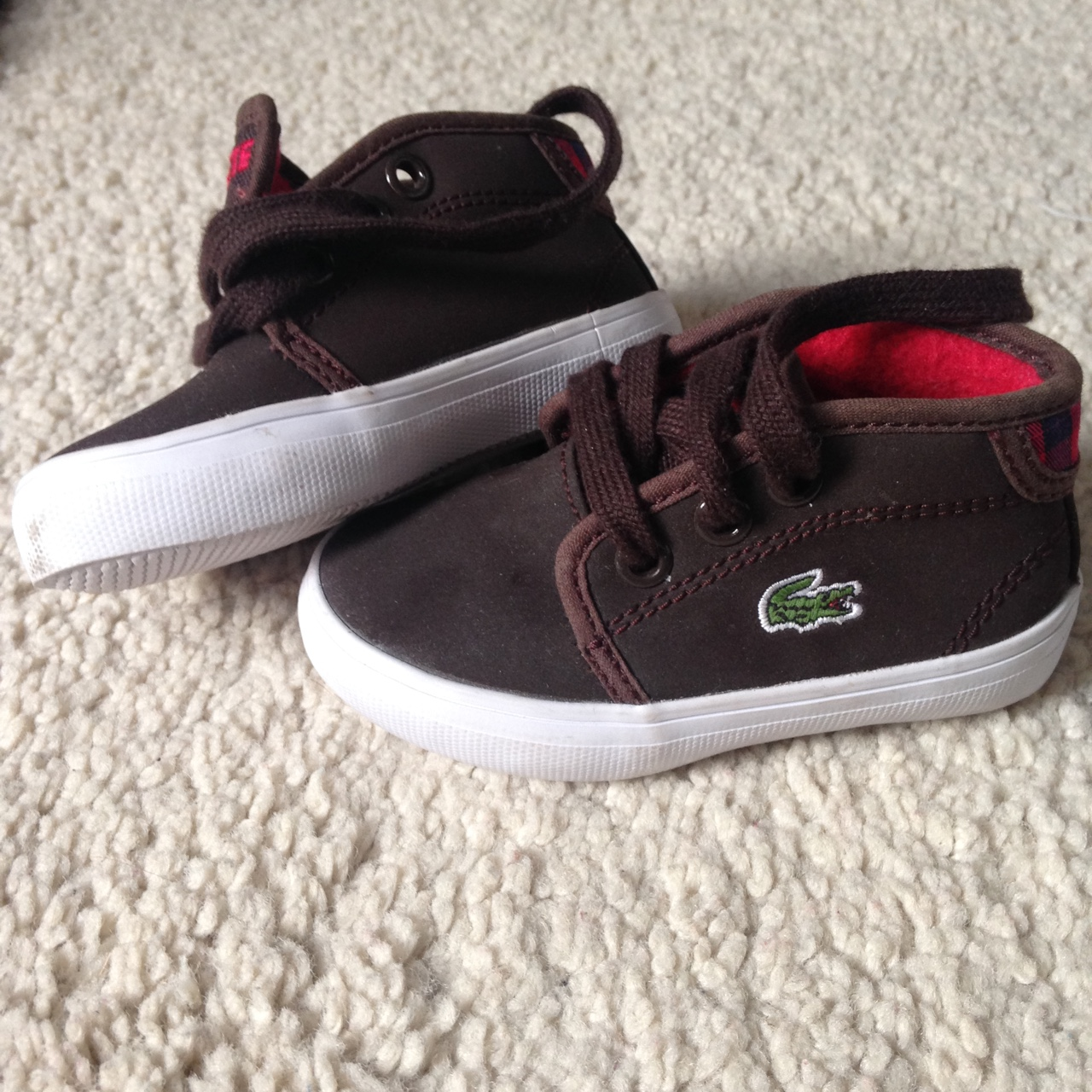 Lacoste baby boy Shoes in Size UK 3