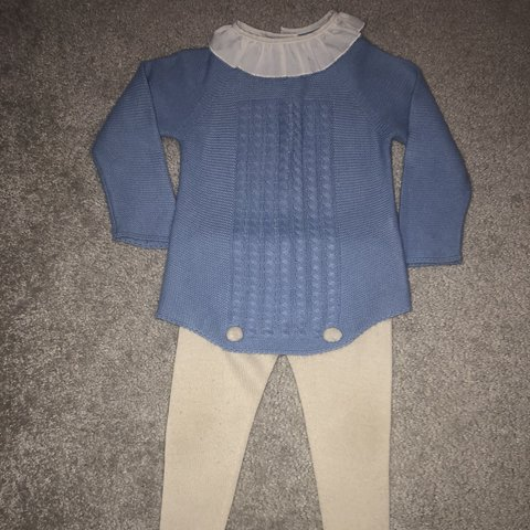Baby Outfits & Sets Just Spanish Knitted Baby Set Age 12m