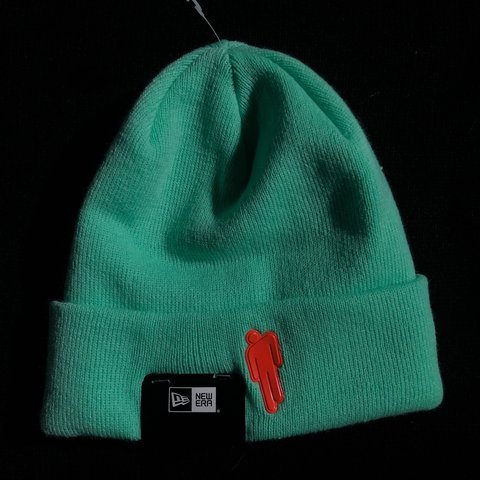 4b2a5464 Billie Eilish exclusive and rare teal blohsh beanie. The is - Depop