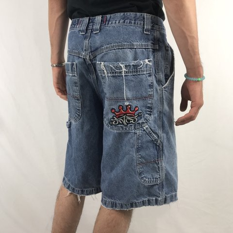 e4197caab3 Classic vintage jnco denim shorts 👑 from the 90s ✨ super on - Depop