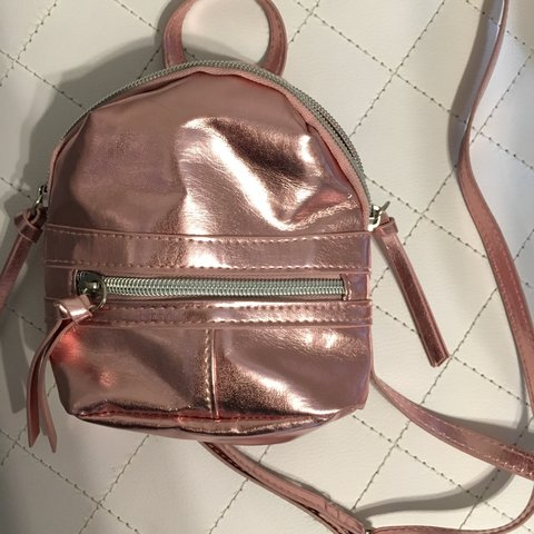 541a38a63f8f Shiny small pink crossbody purse from target. Cute to style - Depop