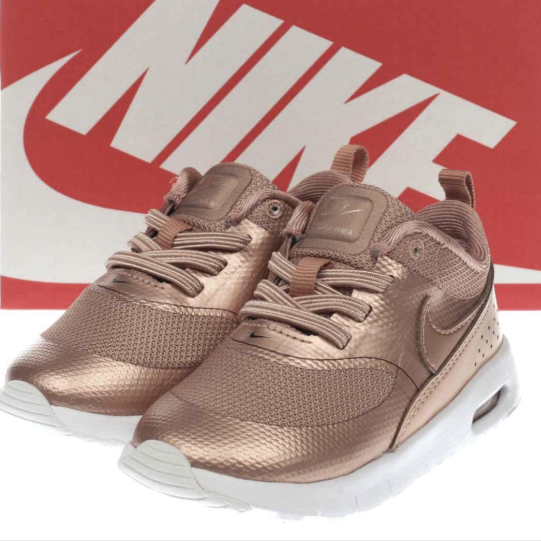 reduced: WOMENS NIKE AIR MAX THEA SE ROSE GOLD SIZE Depop