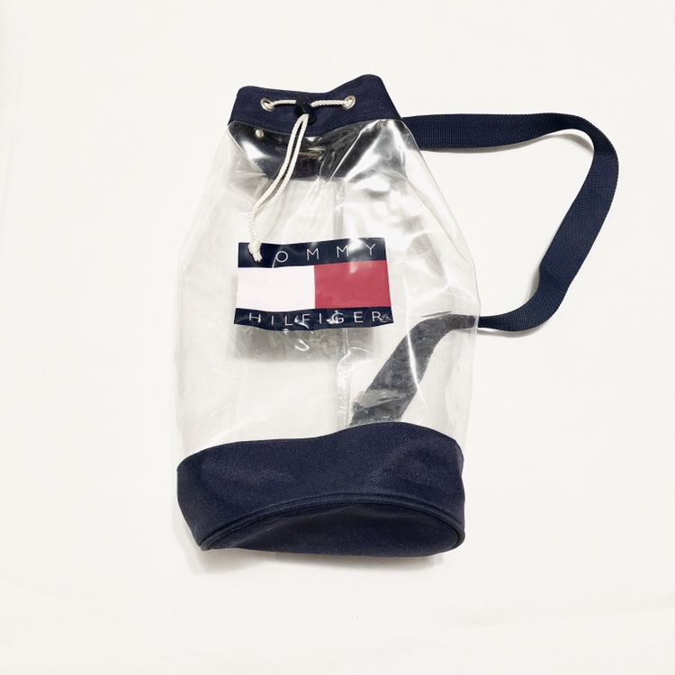 clear tommy hilfiger bag