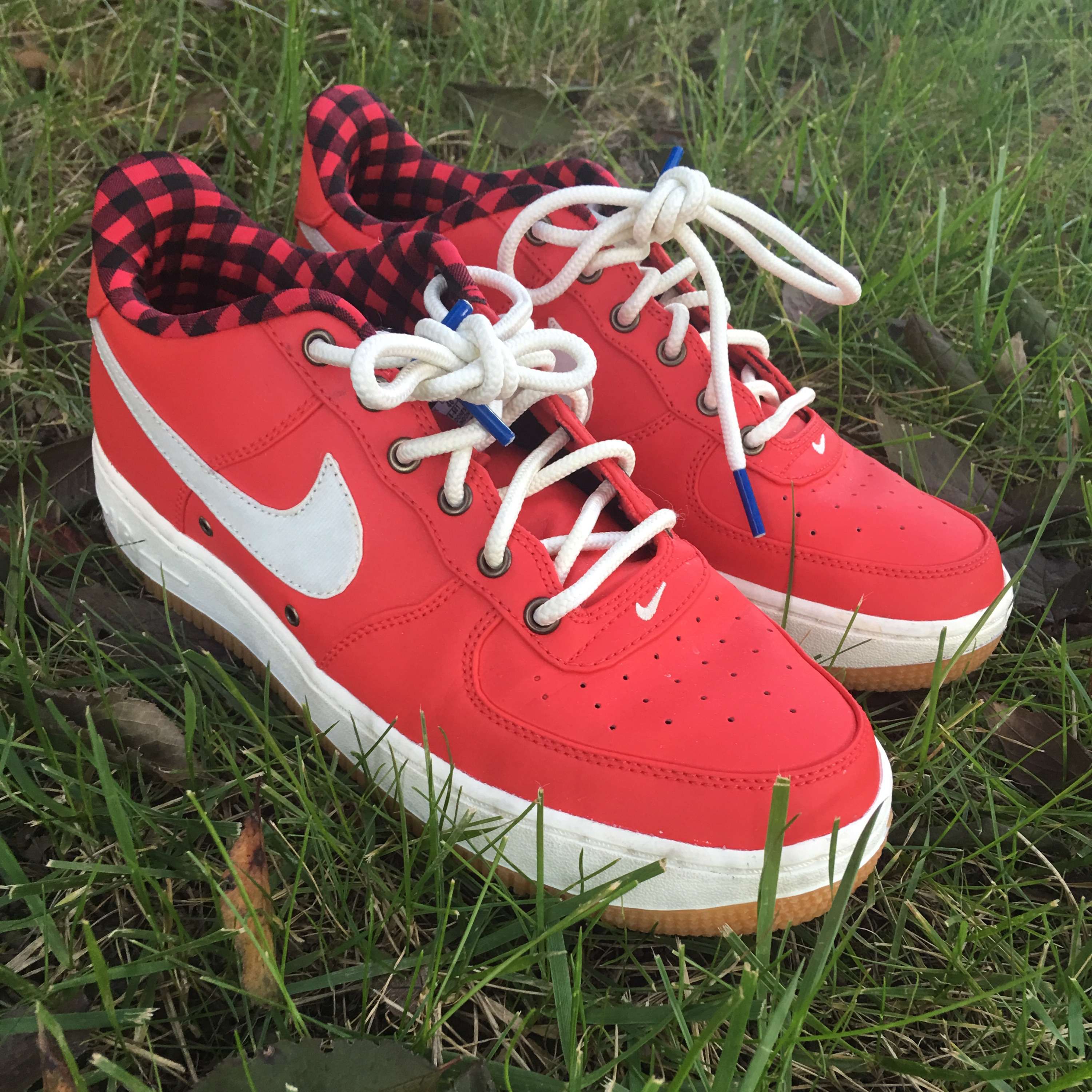 Limited Edition red Nike airforce 1