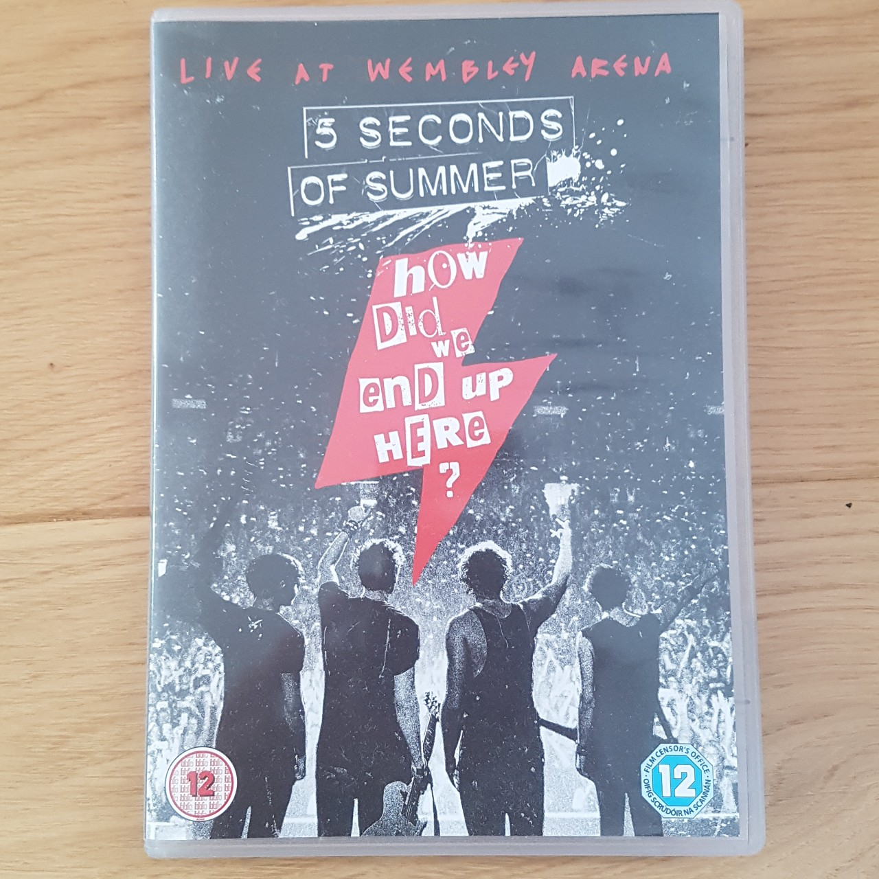 5SOS How Did We End Up Here? DVD Unopened and in    - Depop