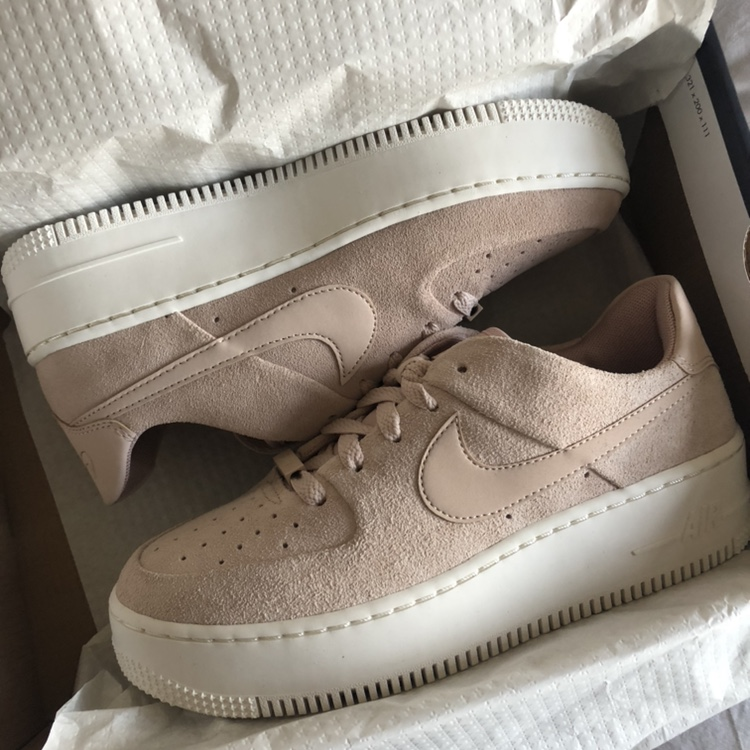 super popular eb5e2 47cf4 Nike Air Force 1 Sage Low in Particle Beige *Brand... - Depop