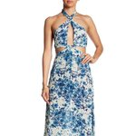 7bad4ad74bd52 Free People Dazed Dreamer Maxi Dress Absolutely. $225. Raga Blue Rose  Cut-out Maxi