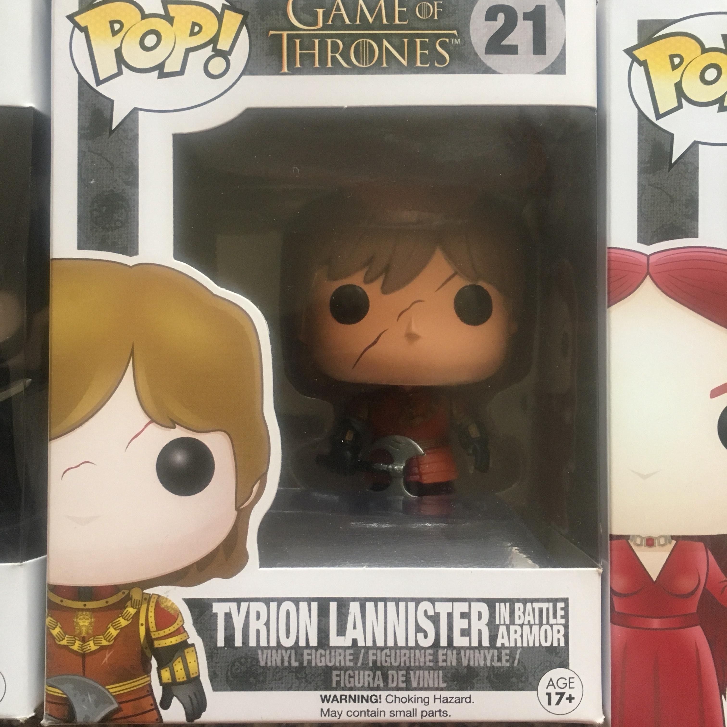 FUNKO POP TYRION LANNISTER IN BATTLE ARMOR 21 GAME OF THRONES