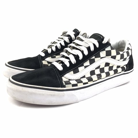 93f427b74997f @tomkshoes. 2 months ago. Lincoln, United States. Vans Old Skool  Checkerboard Skate Shoes