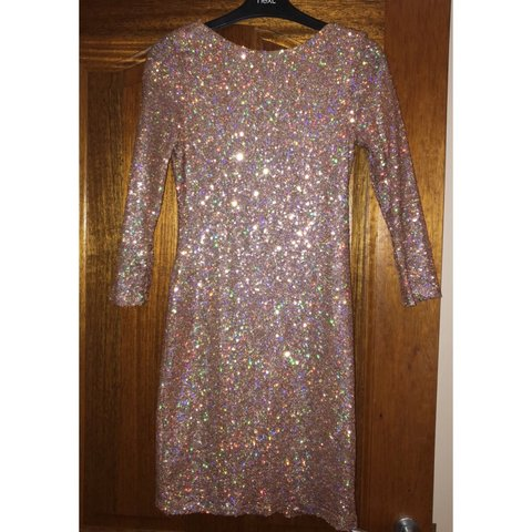 aa2cb0c2 @emily_mcintyre. 3 months ago. Coleraine, United Kingdom. Topshop Rose gold  sparkly reflective mini dress ...