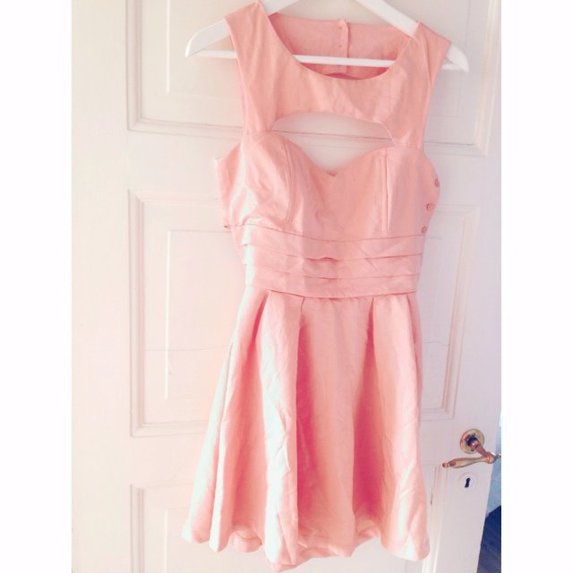 c8c529849f4 Babydoll dress with heartshape at the chest. Bought in Size - Depop