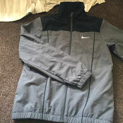 7f9aed77cd0d3d Nike tracksuit top perfect condition hardly worn Size small - Depop