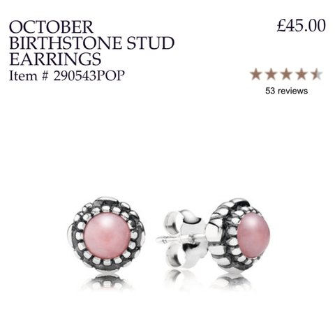 867a7214e ... purchase one earring for sale pandora october earring rrp 45 i of depop  ae439 1dad3