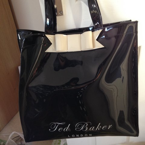cbe1e8c3fb REDUCED** Ted Baker large plastic bag! Used a few times as - Depop