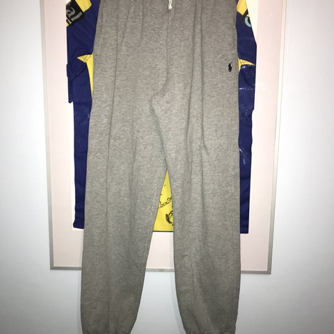 4eeeef746 @camneary. 4 months ago. Warrington, United Kingdom. Polo Ralph Lauren  tracksuit bottoms, boy size ...