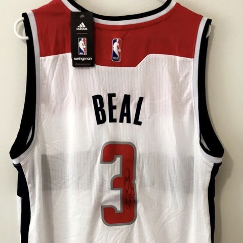 Washington Wizards Signed Beal Jersey  price negotiable  - - Depop d6688b37e
