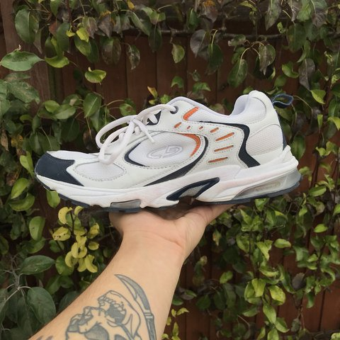 8e3a2e85c29 C9 by Champion trainers Vintage dad shoes Size U.K.8 Worn - Depop