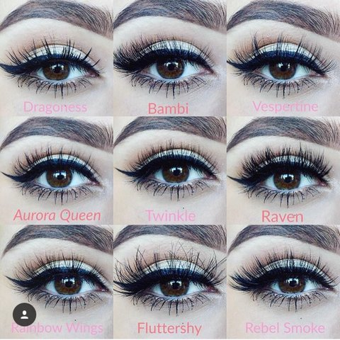 c7c1ba8c7c8 Just some of our Mink & synthetic silk Lashes at and you can - Depop